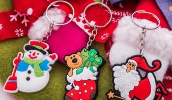 Sản Xuất Móc Khóa Noel Theo Yêu Cầu - Móc Khóa Noel Giá Rẻ